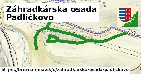 ilustrácia k Záhradkárska osada Padličkovo, Brezno - 0,95km