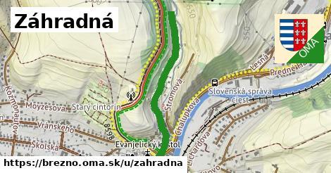 ilustrácia k Záhradná, Brezno - 695m