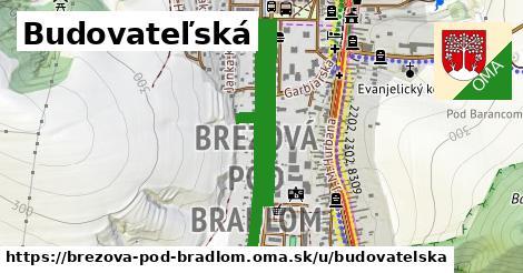 ilustrácia k Budovateľská, Brezová pod Bradlom - 2,2km