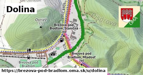 ilustračný obrázok k Dolina, Brezová pod Bradlom