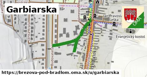 ilustrácia k Garbiarska, Brezová pod Bradlom - 255m