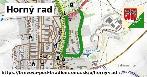 ilustračný obrázok k Horný rad, Brezová pod Bradlom