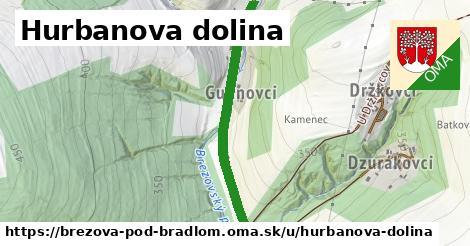 Hurbanova dolina, Brezová pod Bradlom