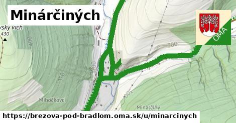 ilustrácia k Minárčiných, Brezová pod Bradlom - 1,68km