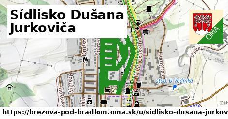ilustrácia k Sídlisko Dušana Jurkoviča, Brezová pod Bradlom - 1,58km