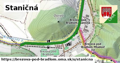 ilustrácia k Staničná, Brezová pod Bradlom - 1,27km
