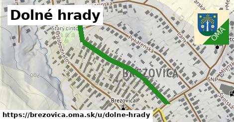 ilustrácia k Dolné hrady, Brezovica - 439m
