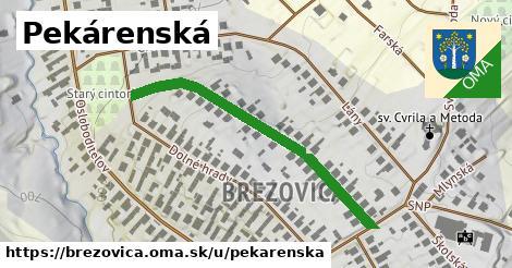 ilustrácia k Pekárenská, Brezovica - 423m