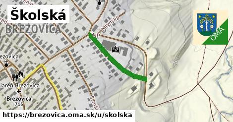 ilustračný obrázok k Školská, Brezovica