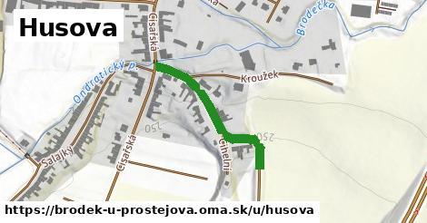 ilustrácia k Husova, Brodek u Prostějova - 673m