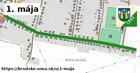 ilustrácia k 1. mája, Brodské - 554m