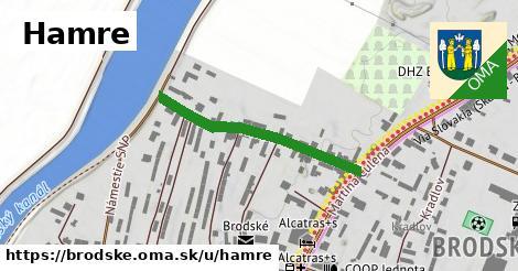 ilustračný obrázok k Hamre, Brodské
