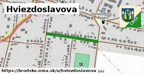 ilustrácia k Hviezdoslavova, Brodské - 273m