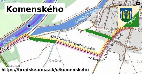 ilustrácia k Komenského, Brodské - 547m