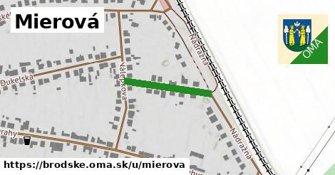 ilustrácia k Mierová, Brodské - 195m