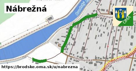 ilustrácia k Nábrežná, Brodské - 363m