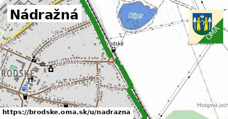 ilustrácia k Nádražná, Brodské - 1,05km