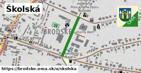 ilustrácia k Školská, Brodské - 223m