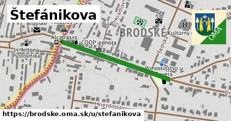 ilustračný obrázok k Štefánikova, Brodské