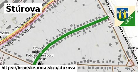 ilustračný obrázok k Štúrova, Brodské
