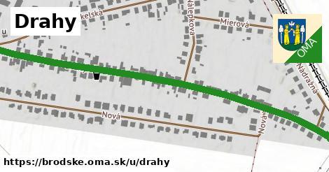 ilustrácia k Drahy, Brodské - 1,70km