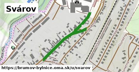 ilustrácia k Svárov, Brumov-Bylnice - 444m