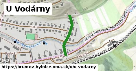ilustrácia k U Vodárny, Brumov-Bylnice - 230m