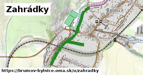 ilustrácia k Zahrádky, Brumov-Bylnice - 0,91km