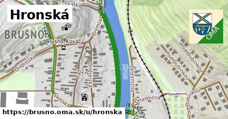 ilustrácia k Hronská, Brusno - 328m