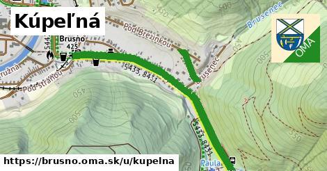 ilustrácia k Kúpeľná, Brusno - 0,98km