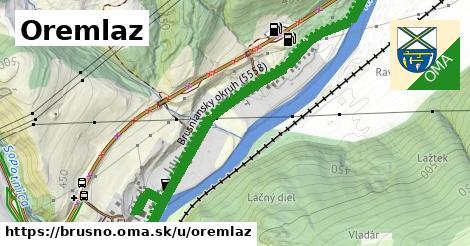 ilustrácia k Oremlaz, Brusno - 1,50km