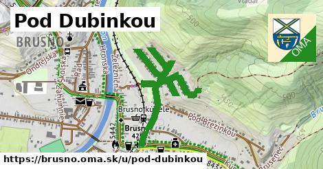 ilustrácia k Pod Dubinkou, Brusno - 1,04km