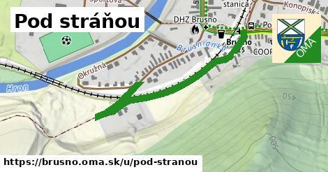 ilustrácia k Pod stráňou, Brusno - 511m