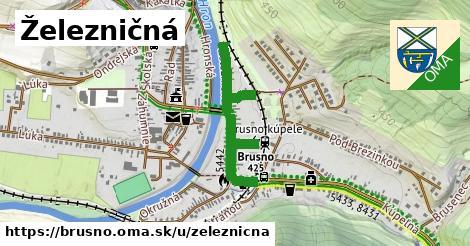 ilustrácia k Železničná, Brusno - 452m