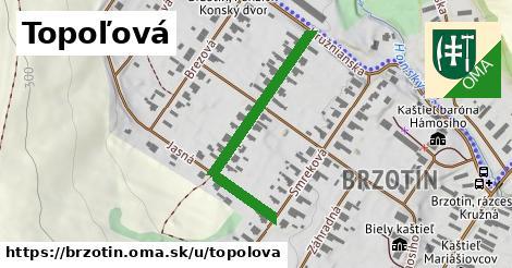 ilustrácia k Topoľová, Brzotín - 363m