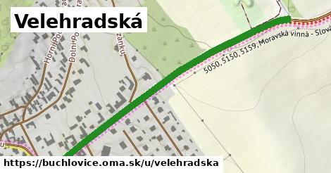 ilustrácia k Velehradská, Buchlovice - 652m