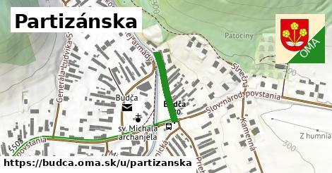 ilustrácia k Partizánska, Budča - 161m