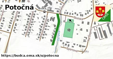 ilustrácia k Potočná, Budča - 213m