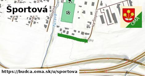 ilustrácia k Športová, Budča - 191m