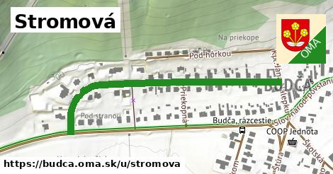 ilustrácia k Stromová, Budča - 549m