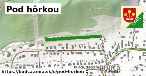 ilustrácia k Pod hôrkou, Budča - 288m