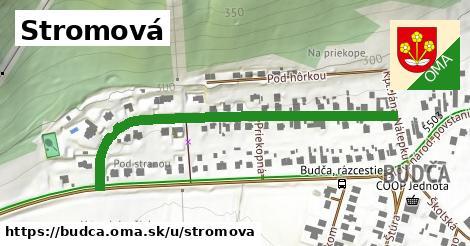 ilustrácia k Stromová, Budča - 551m