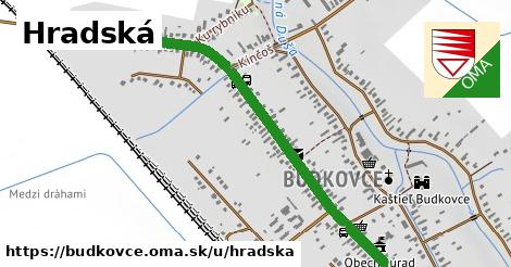 ilustrácia k Hradská, Budkovce - 1,41km