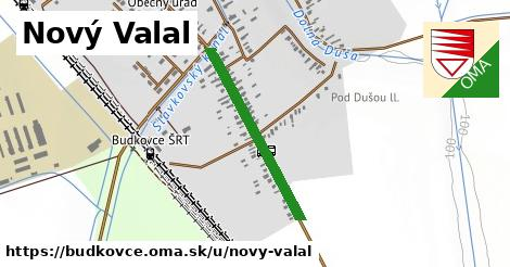 ilustrácia k Nový Valal, Budkovce - 565m