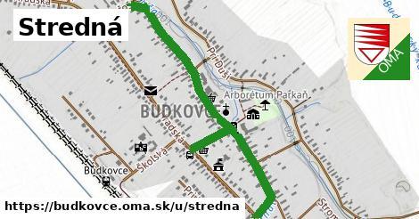 ilustrácia k Stredná, Budkovce - 1,12km