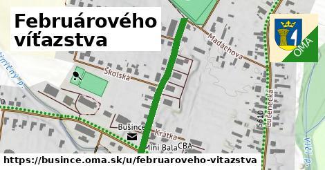 ilustrácia k Februárového víťazstva, Bušince - 319m