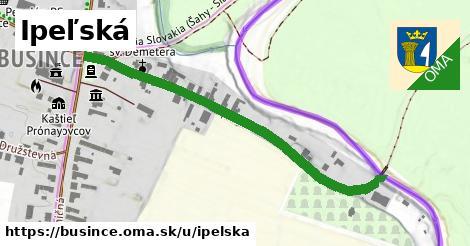 ilustrácia k Ipeľská, Bušince - 540m