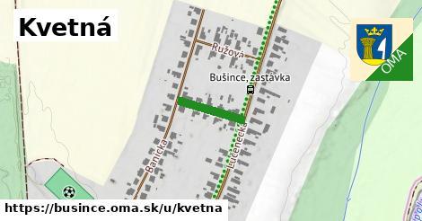ilustrácia k Kvetná, Bušince - 122m