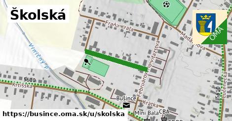 ilustrácia k Školská, Bušince - 205m