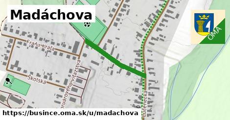 ilustrácia k Madáchova, Bušince - 228m